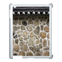 Roof Tile Damme Wall Stone Apple Ipad 3/4 Case (white)