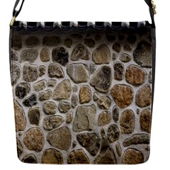 Roof Tile Damme Wall Stone Flap Messenger Bag (S)