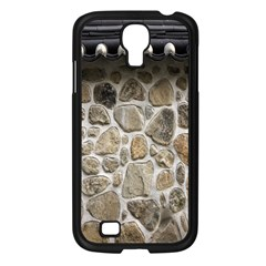 Roof Tile Damme Wall Stone Samsung Galaxy S4 I9500/ I9505 Case (black)