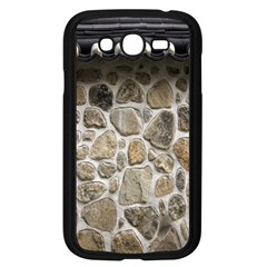 Roof Tile Damme Wall Stone Samsung Galaxy Grand DUOS I9082 Case (Black)