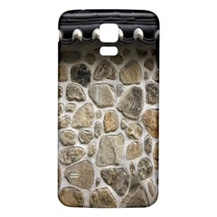 Roof Tile Damme Wall Stone Samsung Galaxy S5 Back Case (white)
