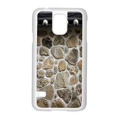 Roof Tile Damme Wall Stone Samsung Galaxy S5 Case (white)