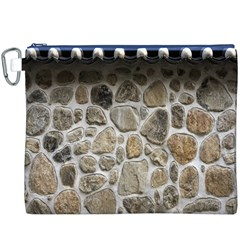 Roof Tile Damme Wall Stone Canvas Cosmetic Bag (XXXL)