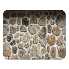 Roof Tile Damme Wall Stone Double Sided Flano Blanket (large)