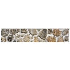 Roof Tile Damme Wall Stone Flano Scarf (small)