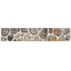 Roof Tile Damme Wall Stone Flano Scarf (Large)
