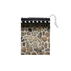 Roof Tile Damme Wall Stone Drawstring Pouches (XS)