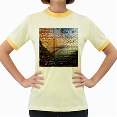 San Francisco Women s Fitted Ringer T Shirts