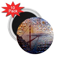 San Francisco 2.25  Magnets (10 pack)