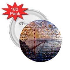 San Francisco 2 25  Buttons (100 Pack)