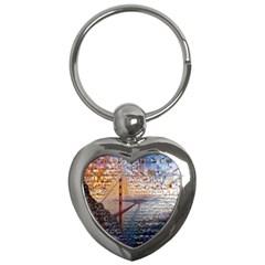 San Francisco Key Chains (heart)