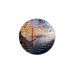 San Francisco Golf Ball Marker