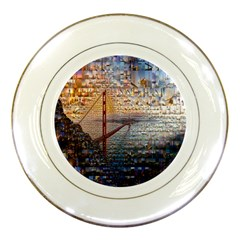 San Francisco Porcelain Plates
