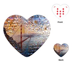 San Francisco Playing Cards (heart)