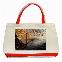 San Francisco Classic Tote Bag (red)