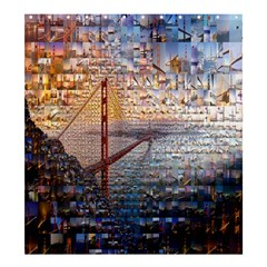 San Francisco Shower Curtain 66  x 72  (Large)