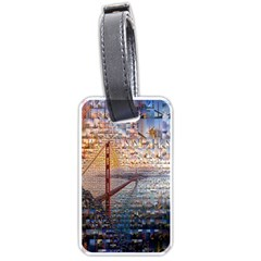 San Francisco Luggage Tags (two Sides)