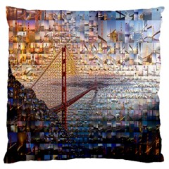 San Francisco Large Cushion Case (two Sides)