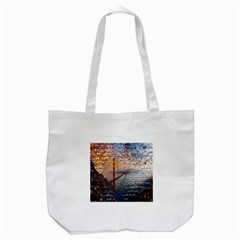 San Francisco Tote Bag (white)