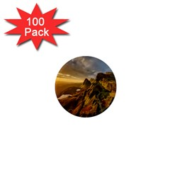 Scotland Landscape Scenic Mountains 1  Mini Magnets (100 Pack)