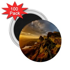 Scotland Landscape Scenic Mountains 2 25  Magnets (100 Pack)