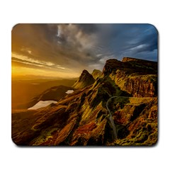 Scotland Landscape Scenic Mountains Large Mousepads