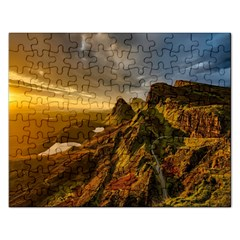 Scotland Landscape Scenic Mountains Rectangular Jigsaw Puzzl