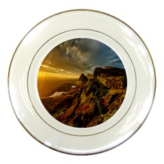 Scotland Landscape Scenic Mountains Porcelain Plates