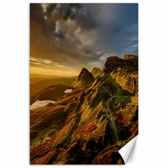 Scotland Landscape Scenic Mountains Canvas 24  x 36