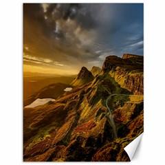 Scotland Landscape Scenic Mountains Canvas 36  X 48