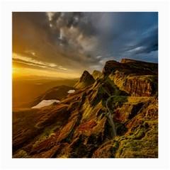 Scotland Landscape Scenic Mountains Medium Glasses Cloth (2-Side)
