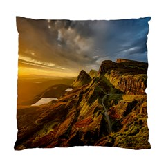 Scotland Landscape Scenic Mountains Standard Cushion Case (One Side)