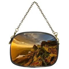 Scotland Landscape Scenic Mountains Chain Purses (Two Sides)
