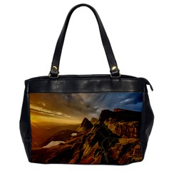 Scotland Landscape Scenic Mountains Office Handbags