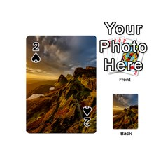 Scotland Landscape Scenic Mountains Playing Cards 54 (Mini)