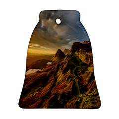 Scotland Landscape Scenic Mountains Bell Ornament (Two Sides)