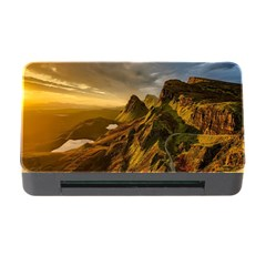 Scotland Landscape Scenic Mountains Memory Card Reader With Cf
