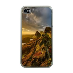 Scotland Landscape Scenic Mountains Apple Iphone 4 Case (clear)