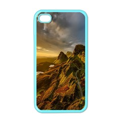 Scotland Landscape Scenic Mountains Apple Iphone 4 Case (color)