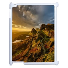 Scotland Landscape Scenic Mountains Apple iPad 2 Case (White)