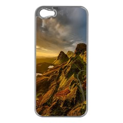 Scotland Landscape Scenic Mountains Apple iPhone 5 Case (Silver)