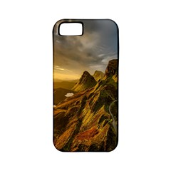 Scotland Landscape Scenic Mountains Apple Iphone 5 Classic Hardshell Case (pc+silicone)