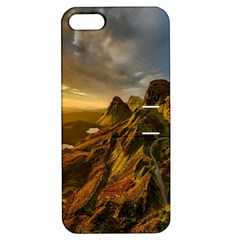 Scotland Landscape Scenic Mountains Apple Iphone 5 Hardshell Case With Stand