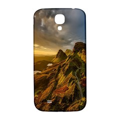 Scotland Landscape Scenic Mountains Samsung Galaxy S4 I9500/i9505  Hardshell Back Case