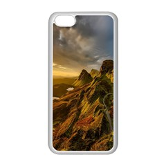 Scotland Landscape Scenic Mountains Apple Iphone 5c Seamless Case (white)