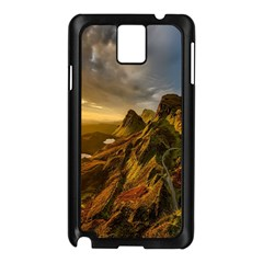 Scotland Landscape Scenic Mountains Samsung Galaxy Note 3 N9005 Case (black)