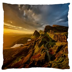 Scotland Landscape Scenic Mountains Standard Flano Cushion Case (one Side)