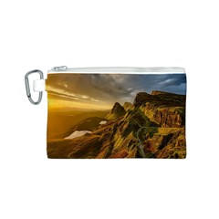 Scotland Landscape Scenic Mountains Canvas Cosmetic Bag (s)