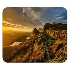 Scotland Landscape Scenic Mountains Double Sided Flano Blanket (small)