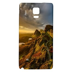 Scotland Landscape Scenic Mountains Galaxy Note 4 Back Case
